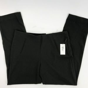 NWT Style&Co  Straight Leg Mid Rise Pant